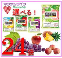 🌟150円税抜き!クーポン使用価格!クーポン使えます!マンナンライフ蒟蒻畑!選べる2ケース24個定番商品!こんにゃくをフルーツ果汁で味付けしたフルーツこんにゃく。