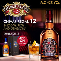 Orginal Chivas 12 Years  Top Up For 18 Years