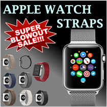 50% OFF! Apple Watch strap Series 1/2 Compatible.Fully Magnetic Closure Clasp Mesh Loop Milanese/ Stainless Steel Bracelet/Genuine Leather Strap/Silicon Band/Size 3842mm.LOCAL SELLER