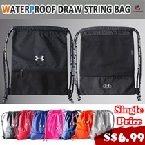 ★FAQ★Sports★Training Equipment★[UNDER ARMOUR] From Medium-Large Drawstring Bag Waterproof /basketball/swimming/OUTDOOR backpack
