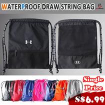 ★FAQ★Sports★Training Equipment★[UNDER ARMOUR]Drawstring Bag Waterproof /basketball/OUTDOOR backpack