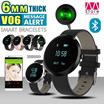 New design!!! Smart Bracelets/ V06/ Blood Pressure/ Heart Rate Monitor/ Sport Activity Watch//Clock/ Accessory/ Unisex/ Fashion/ Message alert  【M18】