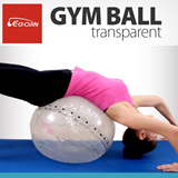 Transparent Gym Ball/ Yoga/ Pillates/ Stretching