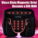 Vince Klein Healthy Underwear / Magnetic Brief for Men (Original) The Man Health Essential Choice! Self-confidence Dignity Passion!