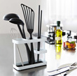 YAMAZAKI Tower Utensils Stand Wide Black/ White / Kitchen / Direct From Japan!!