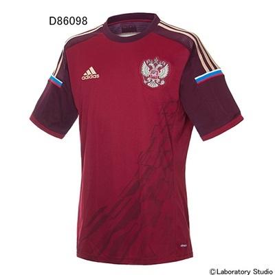 アディダス (adidas) ロシア代表 ホーム レプリカジャージー S/S AD970 [分類:サッカー レプリカウェア (海外代表・海外クラブチーム)] 送料無料の画像
