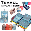 【Travel Organizer 】 Bag in Bag Organizer/Travel Essentials Necessities Organisers Bag Accessories