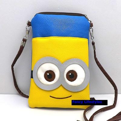 Qoo10 - Minion Sling Bag Pouch Handbag Slingbag Phone Pouch ...