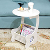 [VOOTEEN]Small coffee table/Creative table/side table/Magazine table/books and newspapers holder balcony table/leisure coffee table/tea table