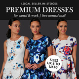 ★APRIL 2015 UPDATE ★PREMIUM DRESSES/ ROMPERS★ UK 6 to UK12★Local Seller ★ Instock ★ Work Dress Casual Dress Short Dress   -- FREE LOCAL SHIPPING