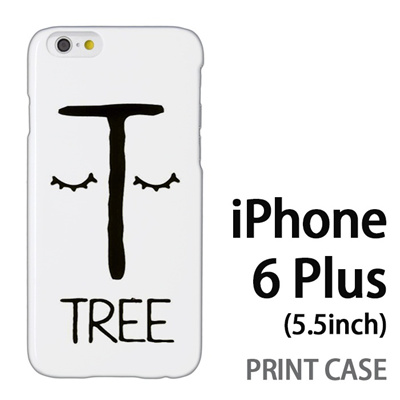 iPhone6 Plus (5.5インチ) 用『0623 「T」』特殊印刷ケース【 iphone6 plus iphone アイフォン アイフォン6 プラス au docomo softbank Apple ケース プリント カバー スマホケース スマホカバー 】の画像