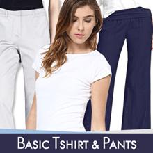SPECIAL PROMO!! Women T-shirt and Women Pants / Best Seller / Good Quality / Celana Wanita / capri
