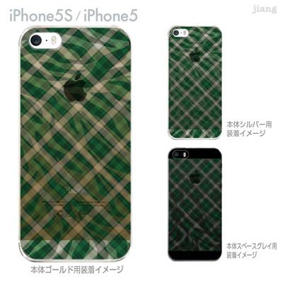 【iPhone5S】【iPhone5】【iPhone5sケース】【iPhone5ケース】【カバー】【スマホケース】【クリアケース】【チェック・ボーダー・ドット】【チェックとゼブラ柄】 21-ip5s-ca0048の画像