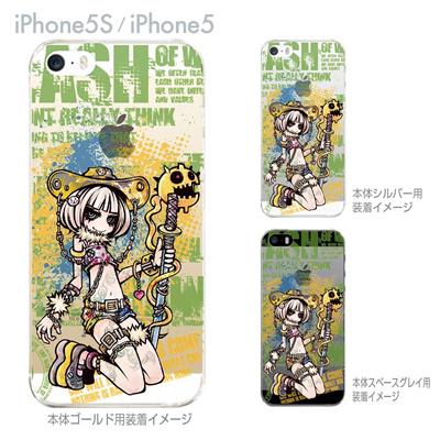 【iPhone5S】【iPhone5】【iPhone5sケース】【iPhone5ケース】【クリア カバー】【スマホケース】【クリアケース】【ハードケース】【イラスト】【Project.C.K.】【プロジェクトシーケー】【KILL THE KING】 11-ip5s-ck0006の画像