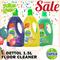 [DETTOL]1.5L Free 500ml Multi Action Floor Cleaner Citrus/Lavender/Green Apple