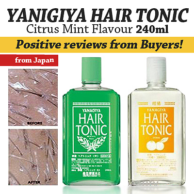 Buy Japan Yanagiya Hair Tonic 240ml Deals For Only S129 Instead Of