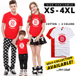 **1 DAY SALES**SG50 Family T-shirt [SG50 UNISEX T-SHIRT] Up To 4XL Exclusively for Singapore 50th Anniversary Celebration! SG50 T-shirt Cotton T-shirt