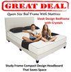 Newly Launched Bedframe with Mattress