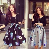 送料無料 2017年春の新作*韓国ファッションコレクション スカートワンピース