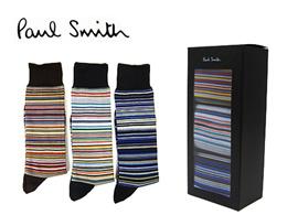 【2015AW新作】PAUL SMITH ポールスミスメンズソックス / 3パックソックス【ANXA-SOCK-PACKM-1】