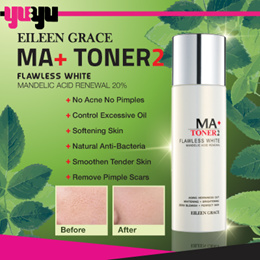 [EILEEN GRACE] MA+ Flawless White Mandelic Acid Renewal Toner ♥ STEP 2 ♥ For Troubled Skin