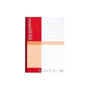(まとめ買い)プラスノートブックA4A罫NO-204AJ〔×20セット〕