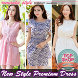 All Flat price! [LoveNlovin] UP TO 65% OFF - women fashion women clothing Korean Formal Dress Collection] 2015 Customer Satisfaction Best Item wedding