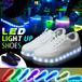 2 Free Shipping Men Women LED Night Light Couples Light Up Casual Sports Dance Sneakers Leather Sports Shoes Running Jogging Walkers Casual Whtie Shoes New Style Big Discount!