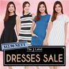 *The J Label* Printed/stripes/summer/romper/work dress/party dress/casual dress/basic dress