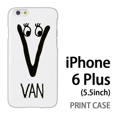 iPhone6 Plus (5.5インチ) 用『0623 「V」』特殊印刷ケース【 iphone6 plus iphone アイフォン アイフォン6 プラス au docomo softbank Apple ケース プリント カバー スマホケース スマホカバー 】の画像