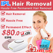 NEW!! IPL Hair Removal Hassle-Free Permanent Hair Remover/ Intense pulsed light