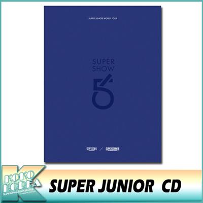 SUPERJUNIORWORLDTOUR/SUPERSHOW5&6/4CD/スーパージュニア/スジュ
