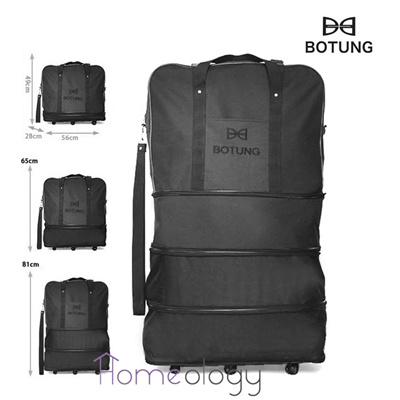 Buy 3 In 1 Botung Expandable Travel Luggage Bag Cabin Hand Carry Check In Korean Foldable