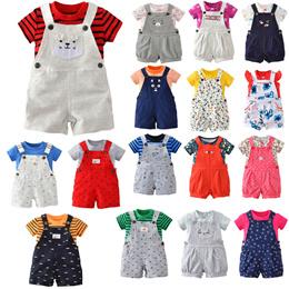 ★Cute 2pcs pack Baby Infant Jumpsuit Rompers Gift Set newborn 24M boy girl kids Children Xmas