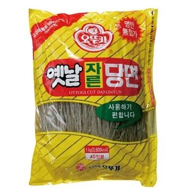 ■韓国食品■オットギ切り春雨1kg■韓国料理のチャップチェの麺■の画像
