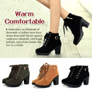 Fashion Shoes/Leather high-heeled shoes/with zip/3colors/Ladies Rough heels/Shoeslaces/Pretty shoes/warm/ladies needs
