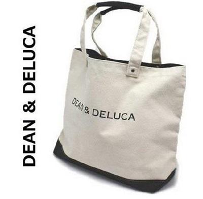 DEAN&DELUCA dean&deluca ディーン&デルーカ コットンキャンバス トートバッグ /バレンタインデー プレゼント 母の日の画像