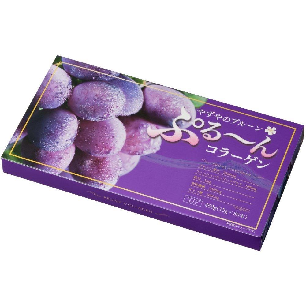 YAZUYA Prune Jelly Collagen 15g x 30 PCS Juicy Beauty