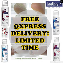 ❤ HIGHLY RECOMMENDED GOOD REVIEWS ❤ FOOTLOGIX CURES DRY ITCHY CRACK PEELING ROUGH FUNGAL FOOT!
