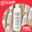 [KR]【NEW LAUNCH】Lets Cure Pure Skin Basic Step Exfoliator 300ml | PH Adjusting toner