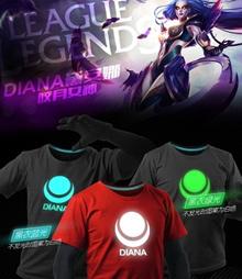 ☆ LOL Luminous Tee ☆ 100% Cotton Tee shirt ☆ LOL League of Legends ☆ Top / Dress / Unisex T-Shirt / Couple Tee