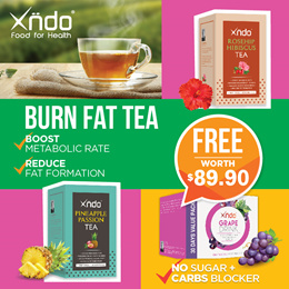[Bundle of 5] Xndo Burn Fat Tea