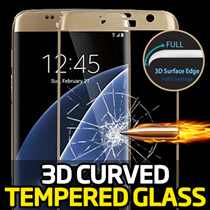 3D Curved Tempered Glass Protector★Samsung Galaxy S8/Plus/S7/Edge/S6/iPhone7/Plus/6S/LG G5/Screen
