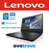 Brand New Lenovo Laptop | Intel Processor | 4GB Ram | 500GB HDD | Windows10 | DVDRW | 15.6 HD LED | 1Year Lenovo Warranty