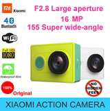**READY STOCK** ████XIAOYI ACTION CAMERA████ WiFi 16MP 1080P 60FPS Ambarella A7LS 155 Degree Wide Lens Bluetooth 40M Diving Sports DV - Basic/Travel White/Green - By XIAOMI - Ships Same Day