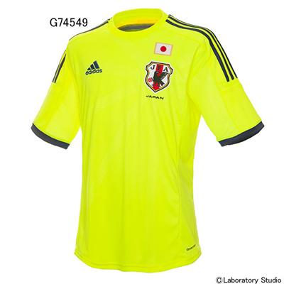 アディダス (adidas) 日本代表 アウェイレプリカジャージー(2014-) AD664 [分類:サッカー レプリカウェア (日本代表・国内クラブチーム)] 送料無料の画像