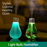 ✴︎ Light Bulb Air Humidifier / Purifier ✴︎ Improves Dry Skin / Sleep ✴︎ Interchangeable