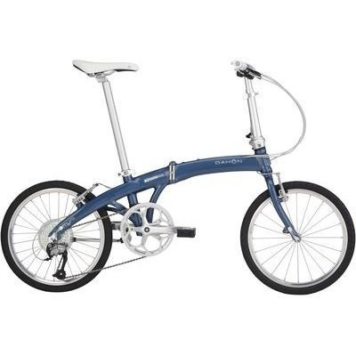 【クリックで詳細表示】DAHON(ダホン) DAHON(ダホン) Mu P9 20インチ 9段変速 スティールネイビー 折りたたみ自転車 16MUP9BL00