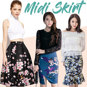 Midi Skirts~ S - 5XL ~ Quality material~