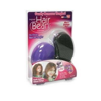訳あり品 ヘアビーン/Hair Bean アウトレット特価 米国テレビ通販でも大ヒット「Hair Bean/ヘアビーン」ブラシを通すだけで頑固なほつれ毛やくせ毛・寝癖も一瞬でツヤのあるストレートヘアにの画像